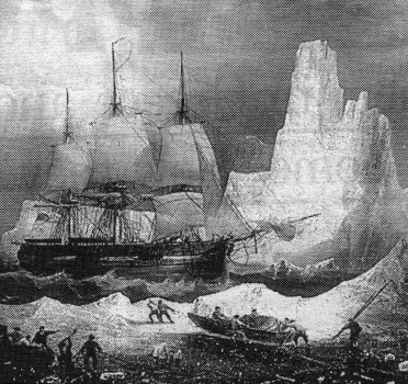 Franlin's Ship In The Ice