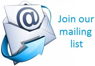 Join Our Newsletter Mailing List